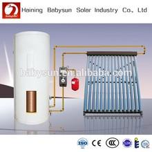 best quality split pressurized heat pipe solar collector, solar water heater