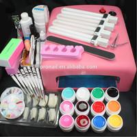 nail UV Gel kit professional uv gel nail kit