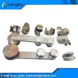 Supply stainless steel bathroom caster wheel for sliding door