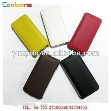 cell phone accessory for i phone 5 case with leather material