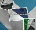 190t prata revestida de tecido tafetá de poliéster