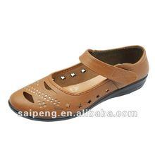 hot sell cheap casual flat wholesale china 2013 shoe woman sandal