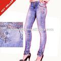 ( #tg352w) 2012 guangzhou con cinturón tachonado de diseño las mujeres jeans ajustados en fotos por favor