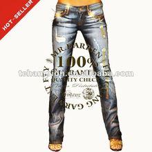 ( # Tg006w ) 2015 novo estilo leggings sex hot jeans leggings quadros de jeans calças menina adolescente mulheres senhoras