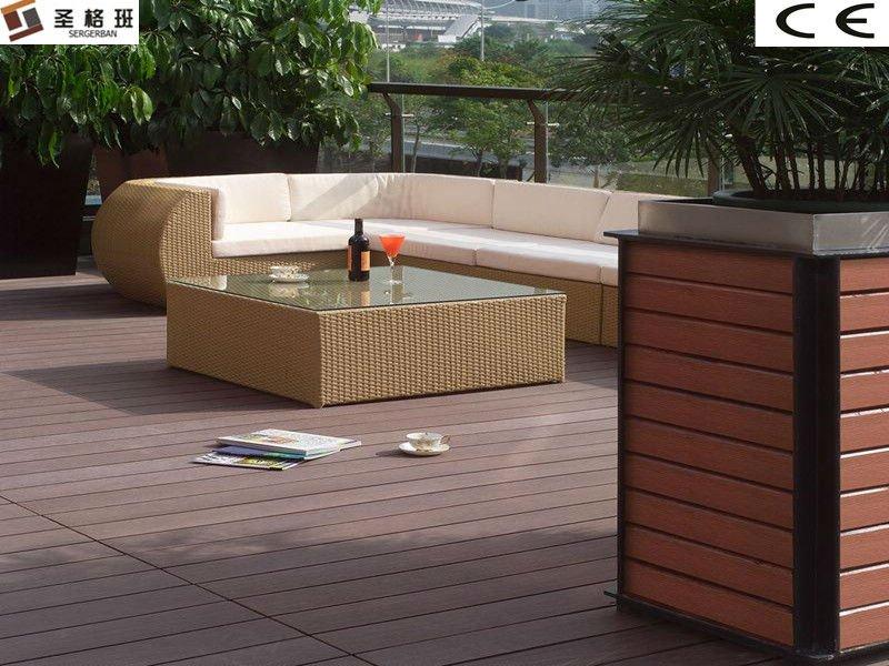 wpc billig im freien wasserdichter balkonbodenbelag. Black Bedroom Furniture Sets. Home Design Ideas