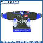 Canada Custom Sublimation Blank ice hockey jerseys