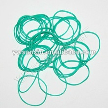elastic synthetic rubber band for binding vegetables/colorful rubber band for money