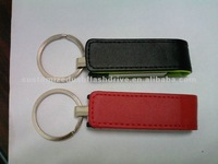 Hot Selling 1GB Leather USB Stick For Promotion