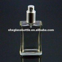30ml screw glass bottle pump spray perfume