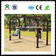 Durable long swing set cheap outdoor swings outdoor patio swing QX-11087B