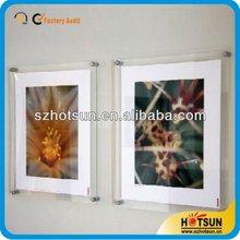 simple POP Acrylic poster holder /acrylic photo frame