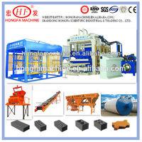 QT12-15 full automatic construction building block machine wall building hollow block machine road paver block machine