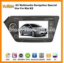 For K2 DVD GPS Player, HD/PIP/11 languages USB/SD/BT/IPOD/AV-in/AUX/ back view/car logo/wallpaper