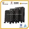 black dot luggage set, abs and pc cover luggage set, hard shell luggage set