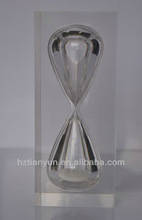 acrylic hourglass /sand timer/sand clock