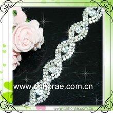 diamante soldering round rhinestone chain