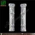 natural de piedra de mármol columnas y pilares