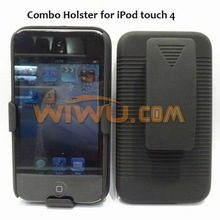 well received phone case,combo holster for ipod touch 4