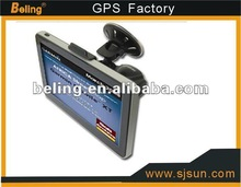 HD gps navigation with AV-in function & bluetooth