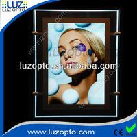 Slim frameless led acrylic light box for A3 A4 size