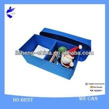 2012 Hot selling blue foldable long storage stool