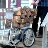 Firewood Loading Trolley