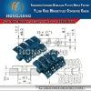 H1050 Flush Grid Magnetflex Plastic Slat Conveyor Chain