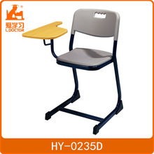 School Student Chair with Writing Pad