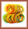 100% Natural colorful elastic rubber band for money/Different quality rubber band/red,green,natural rubber band