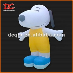 Attractive Large Lovely Snoopy Fixed Inflatable Dog
