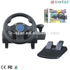 with gear shifter 10 inch black pc racing games steering wheel