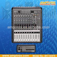 Professional 24bit Multi-effect Processor Mixing Console MV-10/2FX