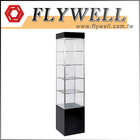 Lockable Counter Glass Display Case Counter Stand