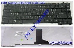 laptop keyboard for Toshiba C600 L600 L640 L645 Thai black Model V114246CS1TI PN AETE2-00210-TI