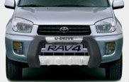 TY31311-PU Grille Guard Front Bumper Bull Bar Front Guard For Toyota Rav4 2001-05