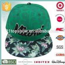hot sales young snapback hat and cap
