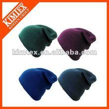 Fashion Promotional Acrylic Knitting Slouch Beanie hat