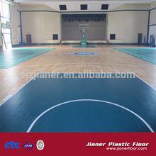China pvc sports flooring for basketball