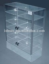 Much volume acrylic display cases