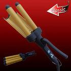 Triple Ceramic Curling Barrel Hair Curler Professional Salon Tools and Equipment Factory