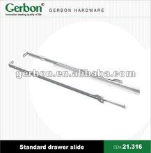 mini side mounted standard drawer slide