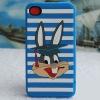 Custom Rabbit design 3d cartoon silicone phone case
