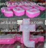 inflatable letter (pink,white,pvc,advertising,ANKA)