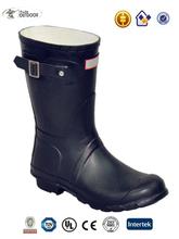 Alta qualidade botas de chuva, Bota goma, Moda feminina goma de borracha botas de chuva
