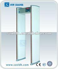 Waterproof and high-sensitive walkthrough Security gate for aiport,door frame metal detector ,walkthrough metal detector XLD-A