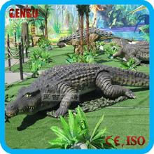 Remote control crocodile model alligator