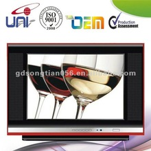 17'' BLACK CRT TV PURE FLAT PANEL FROM CHINA MANUFACTURER