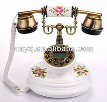 Caller ID Antique Wooden Telephone