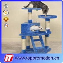 fashion cat tree with sisal fabric and cat scratching posts