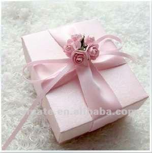 Luxury Wedding Gift List : pink luxury wedding gift for guests box, ribbon indian wedding gift ...